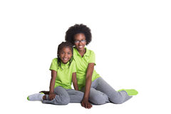 2 irmãs Fotografia de Stock