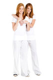 Irmãs adolescentes Imagem de Stock Royalty Free