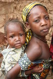 Irmãs africanas Fotos de Stock Royalty Free