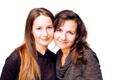 Irmãs da alma Fotografia de Stock