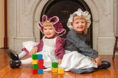 Irmãs do Victorian fotos de stock