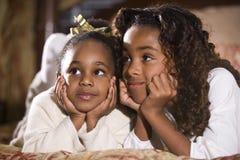 Irmãs e melhores amigos Foto de Stock Royalty Free