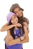 Irmãs felizes novas Imagem de Stock Royalty Free