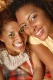 Irmãs novas bonitas Fotografia de Stock