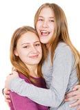 Irmãs novas felizes Foto de Stock
