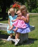 Irmãs nove Foto de Stock Royalty Free