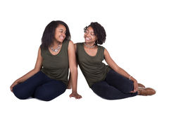 2 irmãs ou amigos Imagens de Stock