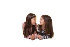 2 irmãs ou amigos Fotografia de Stock Royalty Free