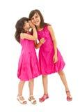irmãs que dizem segredos Imagem de Stock