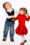 Irmã e irmão Fotos de Stock Royalty Free