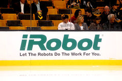 IRobot hockey boards Royalty Free Stock Image