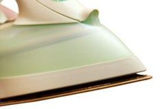 Iron. Forward part of an iron on a white background royalty free stock photos