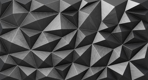 Iron abstract geometric background Royalty Free Stock Photos