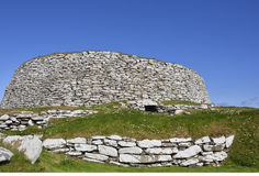 Iron Age Broch Royalty Free Stock Images