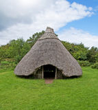 Iron Age Crannog royalty free stock image