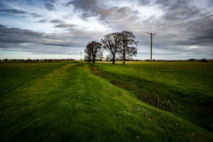 Iron age earth works Royalty Free Stock Photo