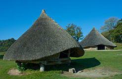 Iron age store hut Royalty Free Stock Photo