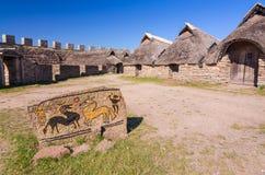 Free Iron Age Symbols In Eketorp Castle Royalty Free Stock Images - 50646509