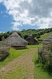 Iron Age Village stock photography