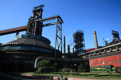 Iron And Steel Plant6 Royalty Free Stock Image