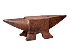 Iron anvil Royalty Free Stock Photo