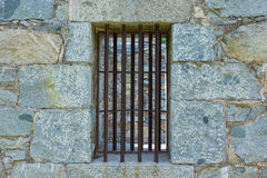 Iron Bar Jail Cell Stock Photography