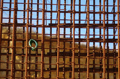 Iron bars for concrete Stock Photo