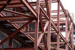 Iron beam construction Stock Image