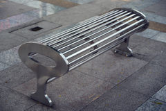 Iron bench Royalty Free Stock Image