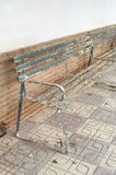 Iron bench Stock Images