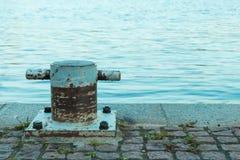 Iron Berth Near Lake Stock Image