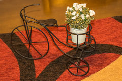 Iron Bicycle Miniature Royalty Free Stock Images