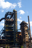 Iron blast furnaces Royalty Free Stock Photos