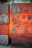 Iron blocks Stock Photo
