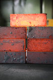 Iron blocks Stock Image