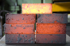 Iron blocks Royalty Free Stock Photos
