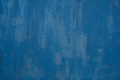 Iron blue texture. The vintage blue grunge iron textured background Royalty Free Stock Images