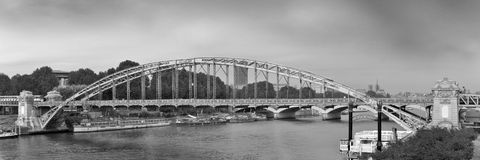 Iron bridge Royalty Free Stock Photo