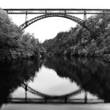 Iron Bridge Royalty Free Stock Photography
