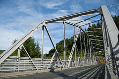 Iron bridge in Norway Royalty Free Stock Photo