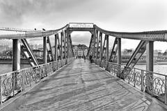 The iron bridge Royalty Free Stock Photography