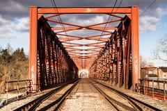 The iron bridge Stock Image