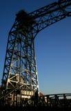 Iron bridge. In willebroek, belgium royalty free stock photos