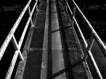 Iron bridge B&W Royalty Free Stock Photo