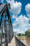 Iron Bridge at Chiang Mai Royalty Free Stock Photo