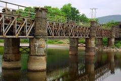Iron bridge in Fort William, Scotland Stock Photography