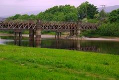 Iron bridge in Fort William, Scotland Stock Photos