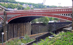 Iron bridge, Halifax Royalty Free Stock Image