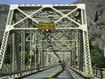 Iron Bridge. Near Grand Coulee dam Royalty Free Stock Images
