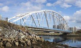 Iron Bridge.  North of Russia Royalty Free Stock Photos